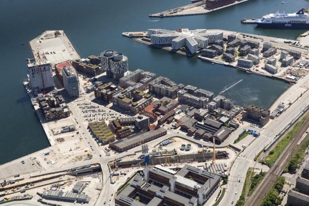 Fantastiske luftbilleder af københavnske projekter