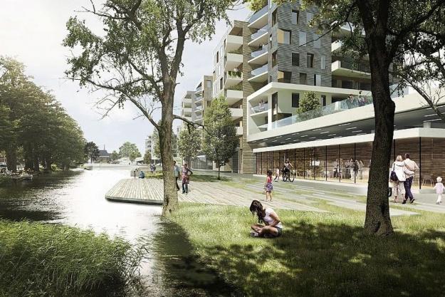 AP Pension og C.F. Møller udvikler byprojekt