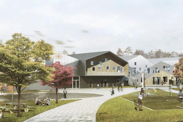 Skole i Odder tager form