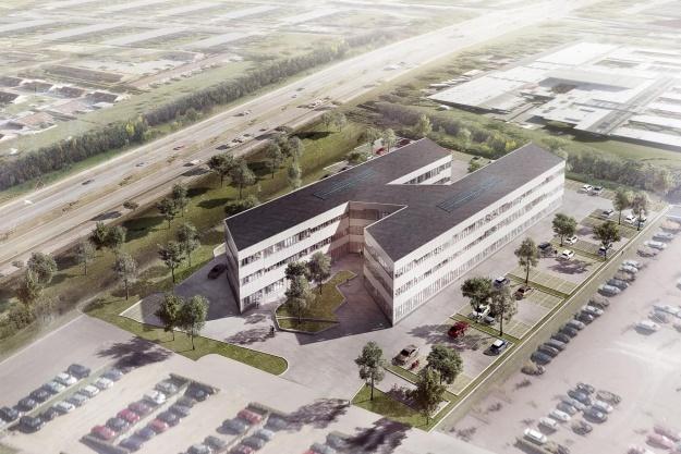 MT Højgaard bygger Multiflex Office i Aarhus
