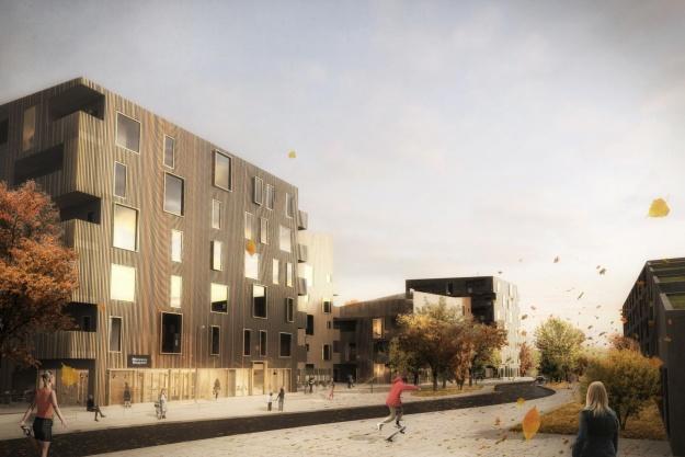 Arkitekt-trio udvikler nyt område i Roskilde