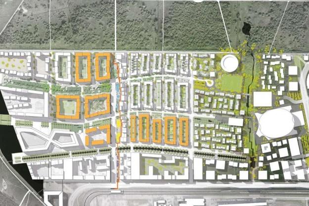 Fuld fart på byggerier i Ørestad Syd