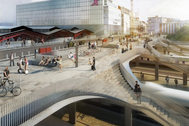 Aarhus hælder mod nedrivning af bro og banegårdshal