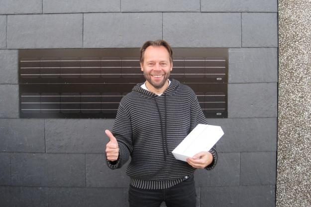 Salgsdirektør vandt en iPad