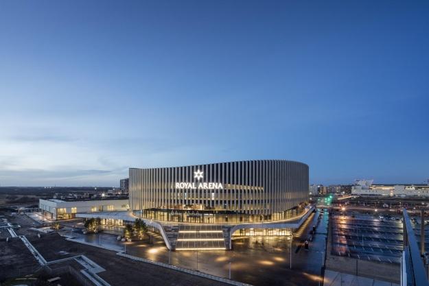 Royal Arena er designet til at være en god nabo