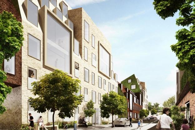 Aarhus får en helt ny gade med boliger
