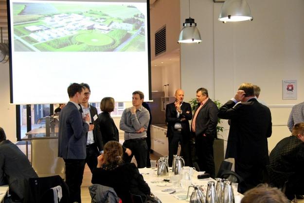 Over 100 virksomheder til entreprenørmøde i Bygningsstyrelsen