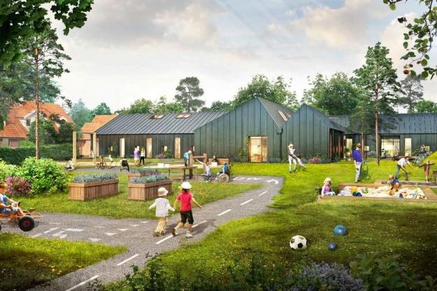STB Byg ombygger børnecenter
