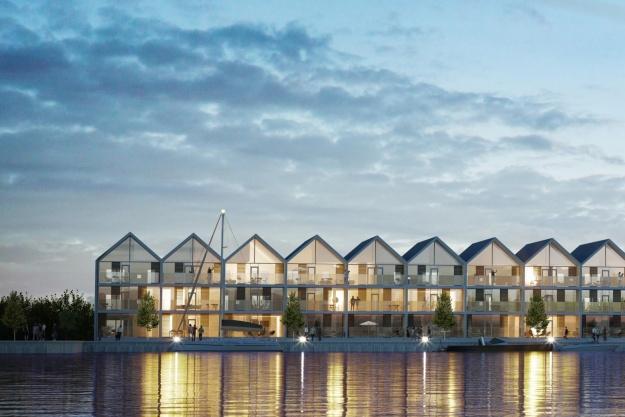 64 boliger på vej på molen i Nyborg