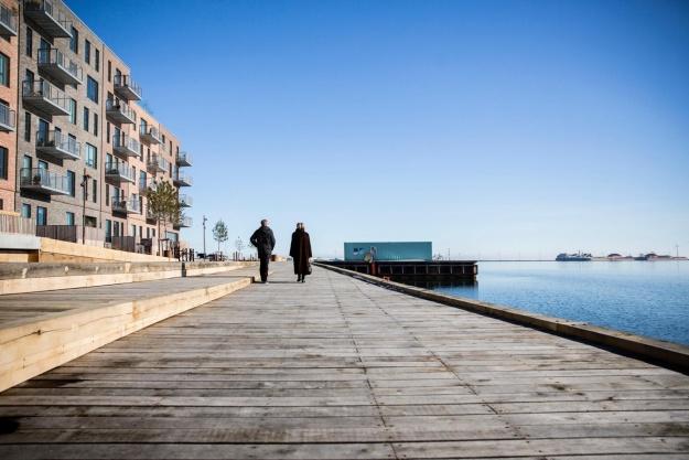 Nyt byrum færdigt i Nordhavn