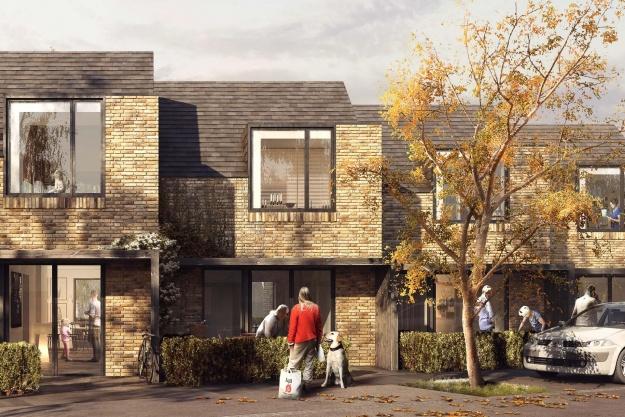 Nye boliger i Skæring