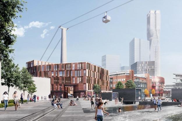 Henning Larsen designer nyt byområde i Göteborg