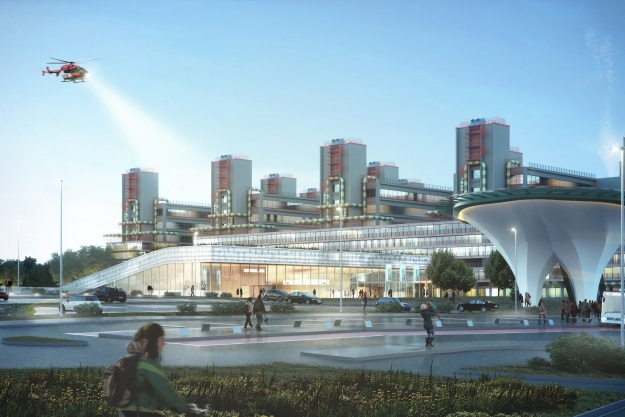 Ikonisk hospitalskompleks udvides med dansk hjælp