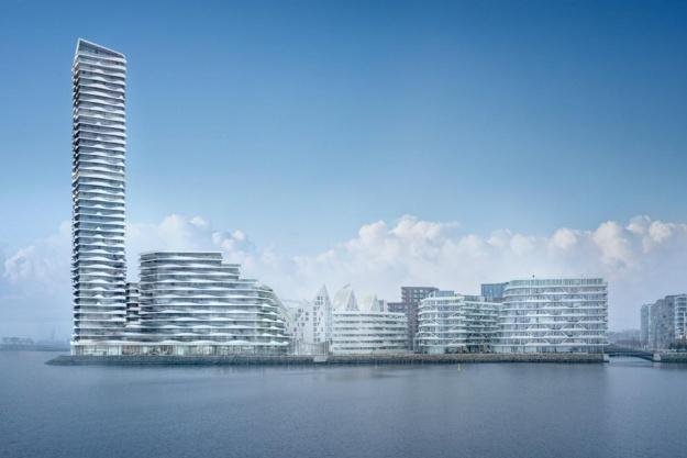 36 etagers vartegn på Aarhus Ø