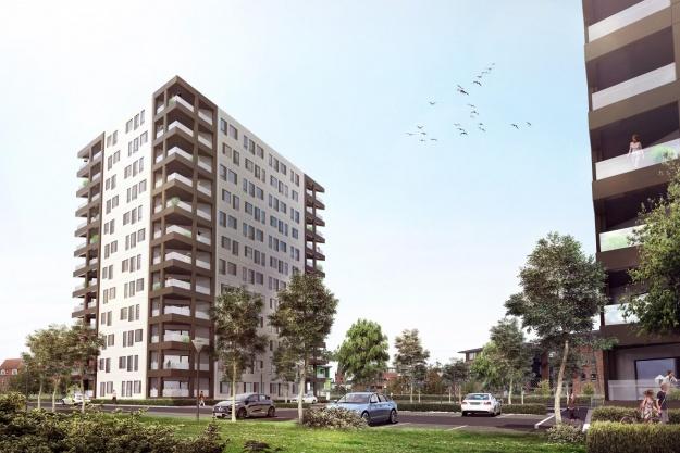 Fokus: Domea bygger 64 lejligheder i Vejle