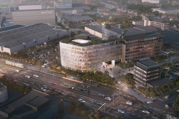 3XN bag stort projekt i Bielefeld