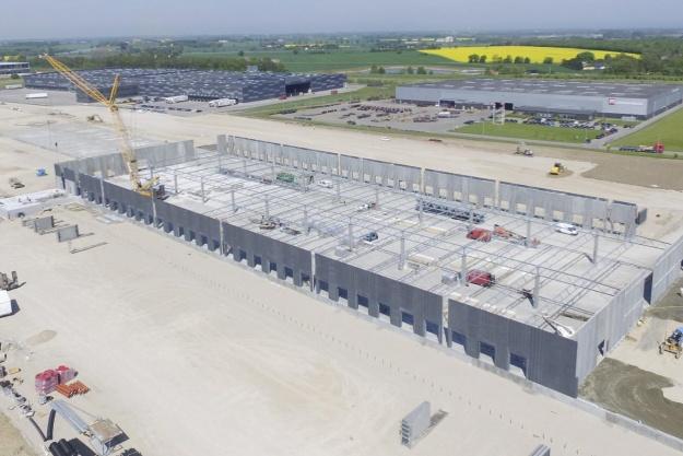 DS Flexhal har flyttet tonsvis af jord i Køge-projekt