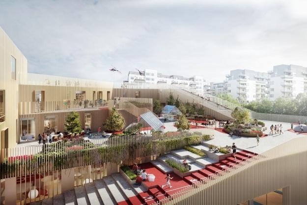MTH vinder skolebyggeri på Bryggen
