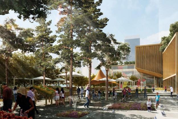 Henning Larsen Architects forlænger udesæsonen med fem uger i canadisk projekt