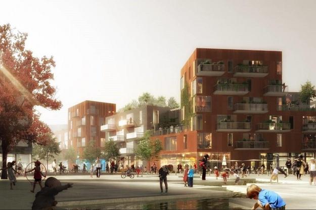 Høje kvalitetskrav i Nordhavns første almene boligbyggeri