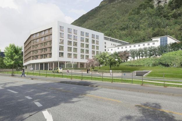 C.F. Møller-tilbygning skal være et landemærke