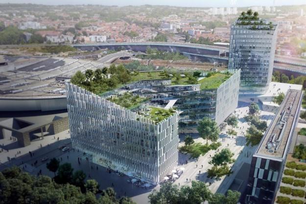 Danske arkitekter tegner fransk bud på europæisk agentur