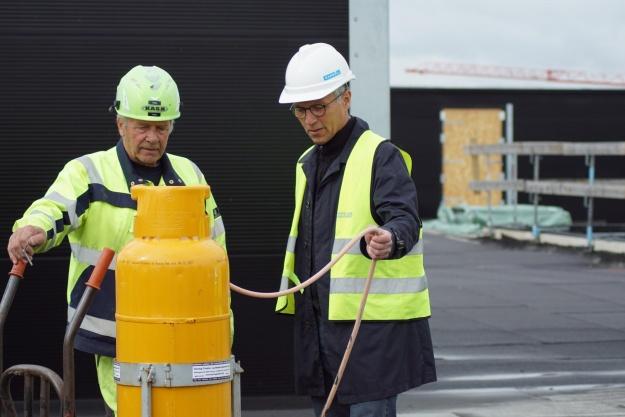 Arbejdsulykker i bund i Gødstrup