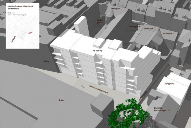 Projektet er ikke konkretiseret endnu. Kommunen har sat gang i forundersøgelser, som skal klarlægge, om man skal gå videre med projektet. Illustration: Aarhus Kommune.