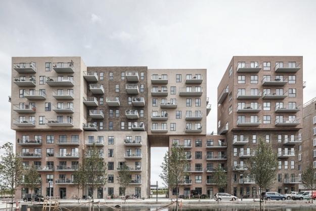 Legende ny boligbebyggelse bryder med den store skala