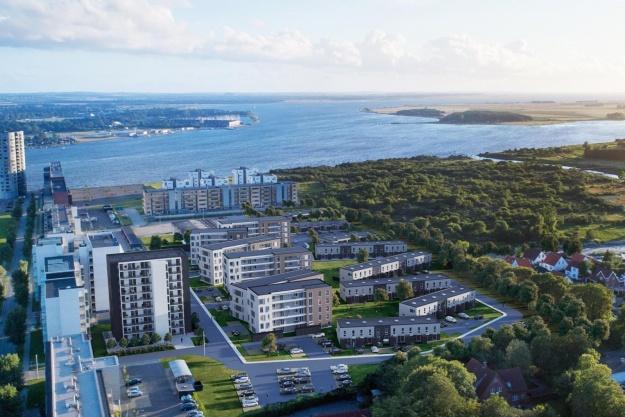 Calum opfører boliger til 500 beboere i Nørresundby