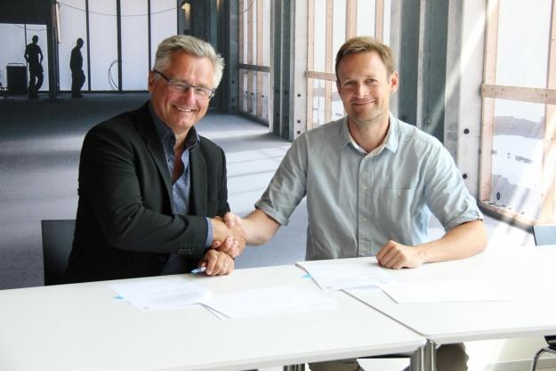Underskrift på ny forskningsbygning