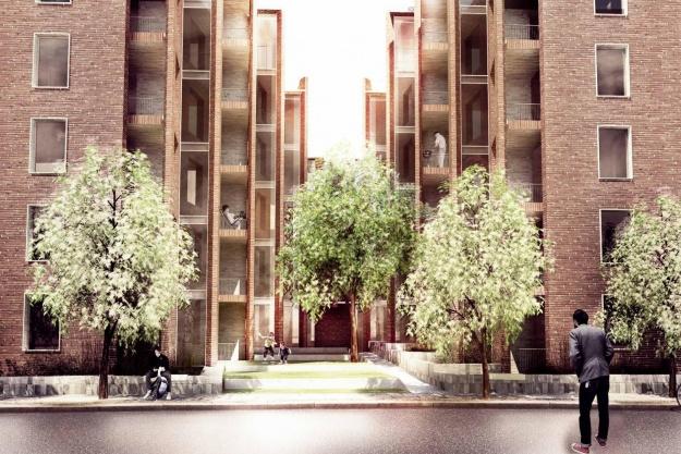 Nye boliger på vej ved Godsbanen