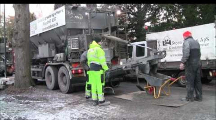 Opvarmet beton gør støbning i frostvejr til en leg