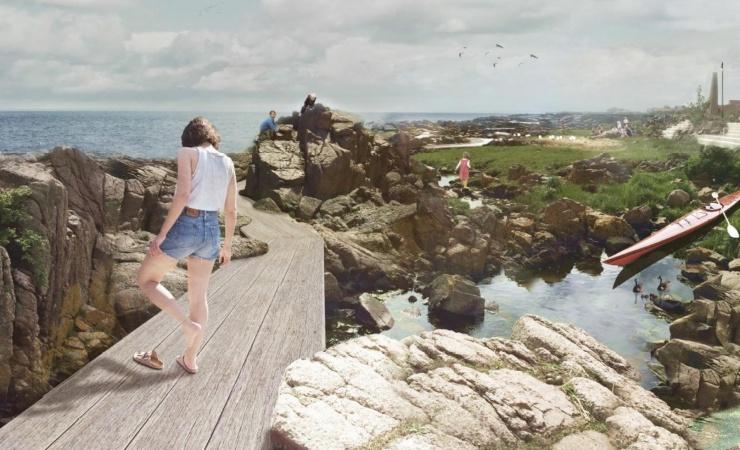 Allinge skal have ny kystpromenade