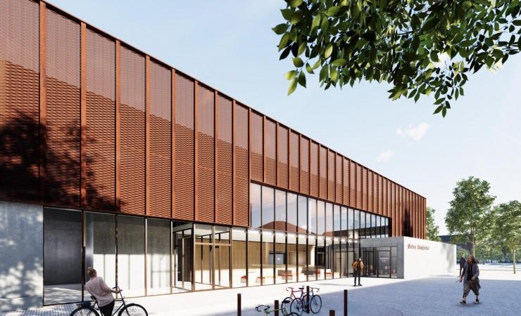Christensen & Co tegner Østerbros nye skøjtehal