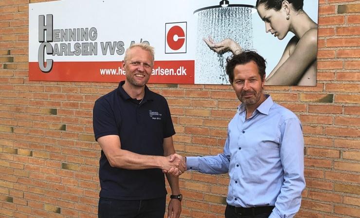 Finn L. & Davidsen overtager VVS-firma