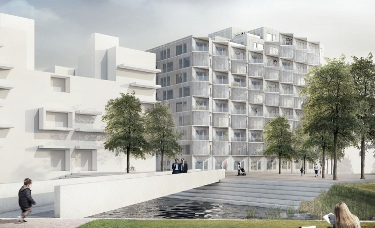 87 boliger klar i Ørestad Syd