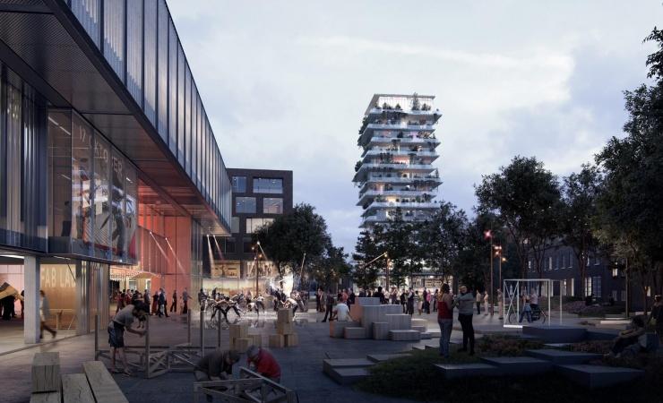 Kæmpeprojekt centralt i Herning passerer milepæl