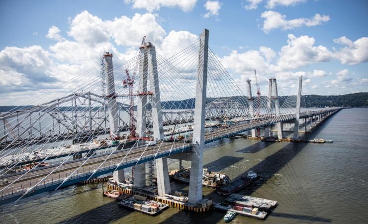 Ny bro over Hudson indviet