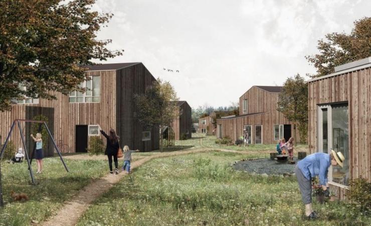 Ugens Projekt: Eco Village i Lejre