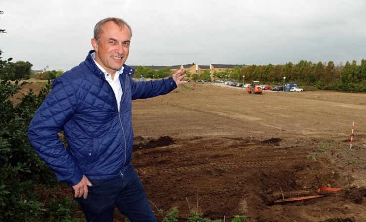 Borgmester igangsætter byggemodning af Høje Taastrup C