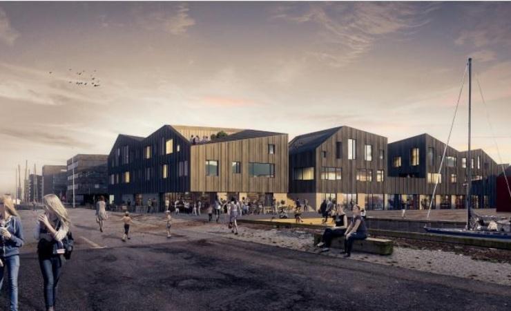 Tyveri forsinker Holbæk Havneby i fire måneder