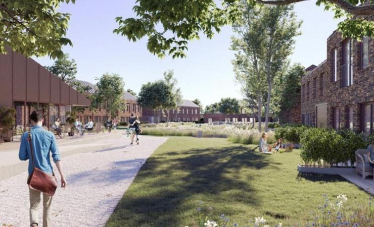 Hansson & Knudsen vinder Kolding-projekt med 120 boliger