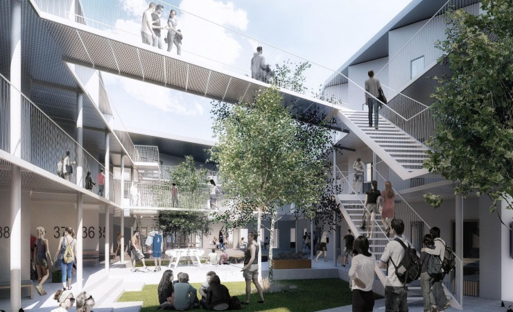 140 boliger opføres ved Valby Idrætspark