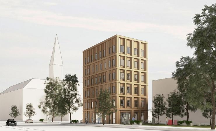 Træhus-koncept skyder snart i vejret i København