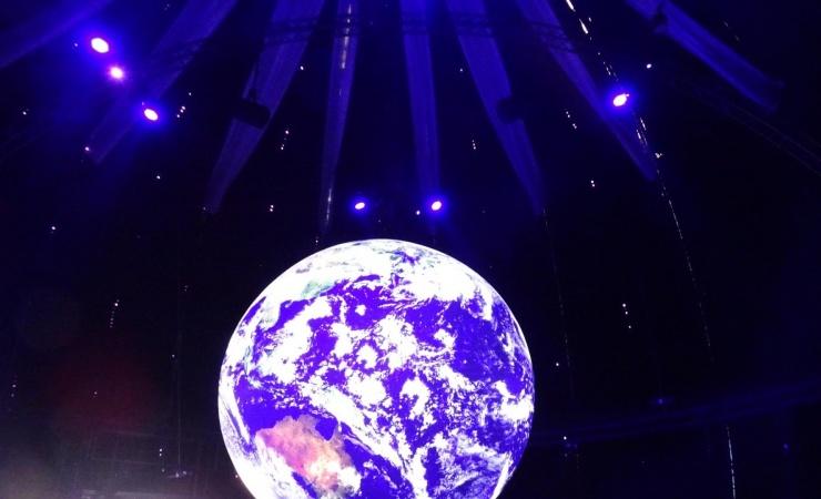 3D-modellering af Climate Planet
