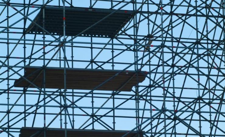 Stilladsbranchen øger byggeriets produktivitet