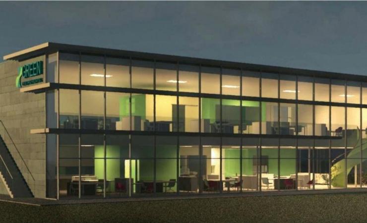 Virksomhed bygger grønt hovedkontor