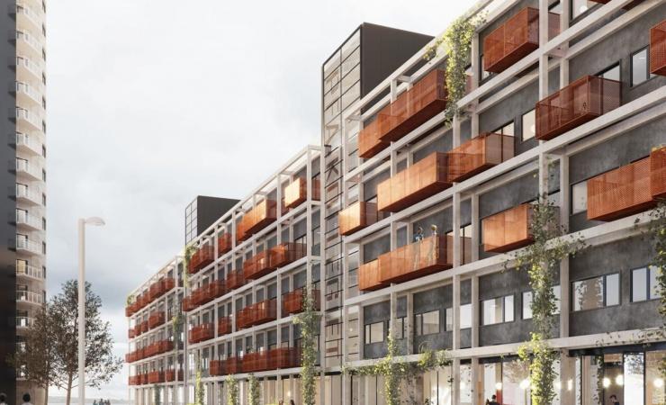 Nyt Aalborg-kollegie får fjordudsigt