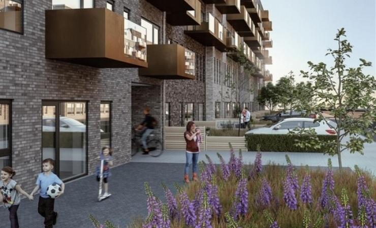 Nyt byggeri i Åbyen II med 190 boliger